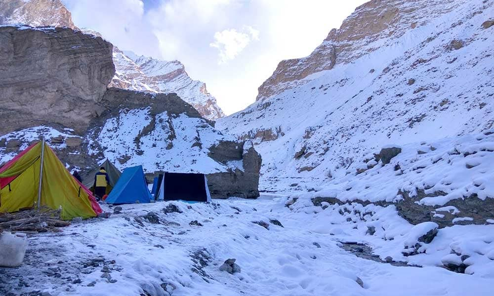 Chadar Trek Height